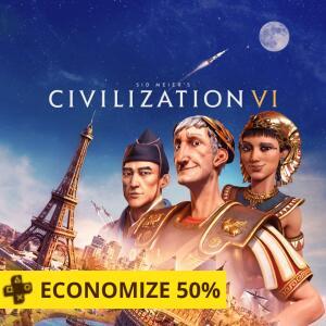 Sid Meier's Civilization VI - PS4 | R$ 126