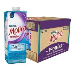 Leite Desnatado Molico +Pro Zero Lactose Caixa 12 un || R$ 45,48