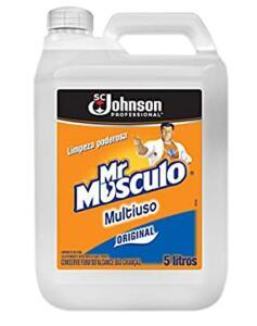 [PRIME] Limpador Mr Músculo Multiuso Professional Original 5L - R$19