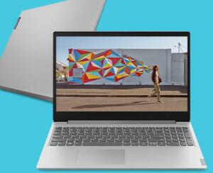 "Notebook IdeaPad S145 15"" - Prata | R$ 2397"