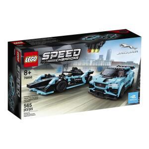 Lego 76898 - Jaguar Racing e I-Pace | R$219,90 + frete | 565 peças (R$0,39 por peça)
