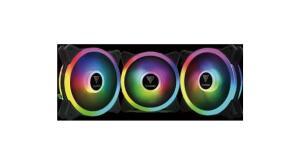 Kit Fan com 3 Unidades, Gamdias, AEOLUS M2-1203 LITE, RGB, 120mm
