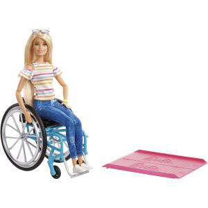 [APP] Barbie Fashionista Cadeira De Rodas - Mattel | R$120