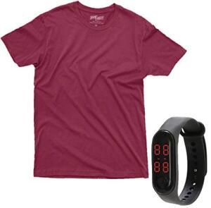 [PRIME] Kit Camiseta + Relógio Digital