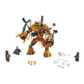 LEGO Marvel Super Heroes - Batalha contra o Monstro de Fogo - 294 Peças