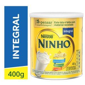 [NORDESTE] 2 x latas de Leite Em Pó Ninho Forti+ Integral 400g