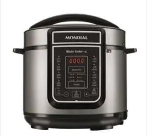 Panela Elétrica de Pressão Mondial Digital Master Cooker PE-38 5 Litros – Preto