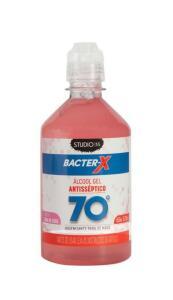 [APP + Club da Lu] Álcool em Gel 70% Antisséptico Água de Coco - 450ml Studio 35 Bacter-X