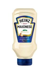 [APP + Clube da Lu] Maionese Tradicional Heinz - 215g | R$ 3,85
