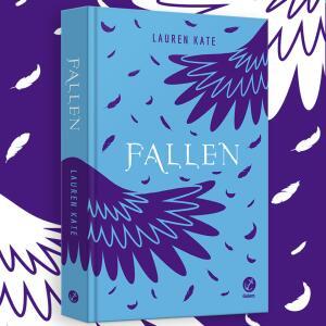 Livro Fallen (Capa dura) | R$ 20
