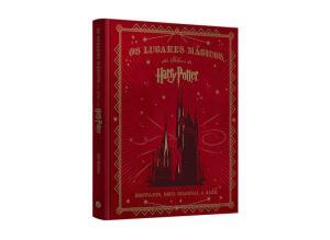 Livro Os lugares mágicos dos filmes de Harry Potter - Capa dura | R$ 70