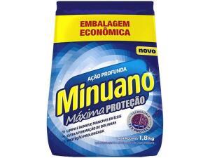 [Clube da Lu] Sabão em Pó Minuano Máxima Proteção - 1,8kg | R$5