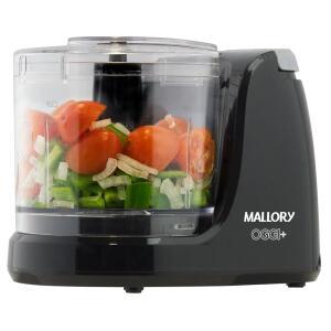 Mini Processador de Alimentos Mallory OGGI + 130W – Preto | R$59