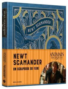 Livro -Animais Fantásticos e onde habitam: Newt Scamander -O Scrapbook do Filme