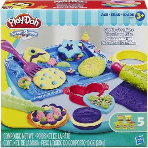 Conjunto Massinha Play-Doh Biscoitos Divertidos | R$42