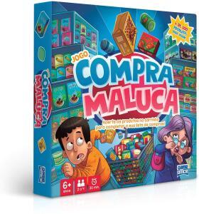 Jogo Compra Maluca Toyster   R$55
