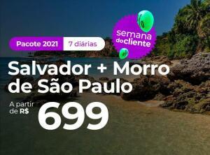 Pacote Salvador + Morro de São Paulo - 2021