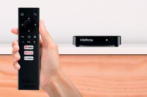 Smart Box AndroidTV IntelBras Izy Play   R$395