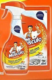 [Recorrência] Mr Músculo Cozinha Total Pack Gatilho 500ml + Refil 400ml | R$ 10