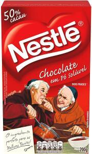 [PRIME]Chocolate em Pó, Nestlé, Dois Frades, 200g