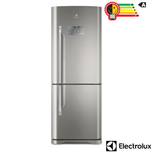 Geladeira Refrigerador Bottom Freezer Inverter Electrolux IB53X | R$ 3200
