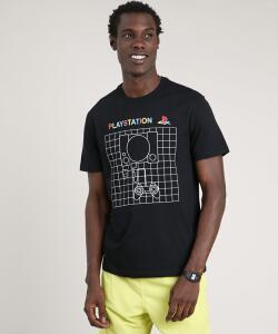 Camiseta Masculina Playstation | R$ 23
