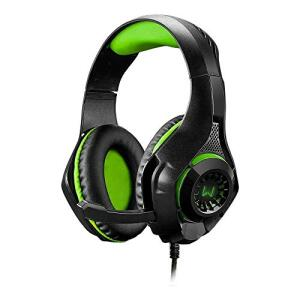 Headset Gamer Warrior Rama P3+USB Stereo P2 LED Verde - PH299 | R$110