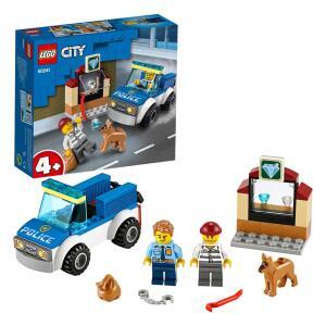 LEGO City - Unidade de Cães Policiais 60241 - 67 Peças | R$ 48