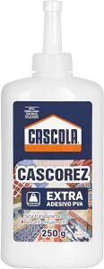 [PRIME] Cascola Cascorez Extra - Cola Branca - 250g | R$6,40