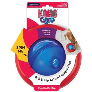 Brinquedo Dispenser Kong Gyro   R$75