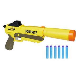 Lanca Dardos Nerf Fortnite Sp-l E7063 Hasbro, Amarelo