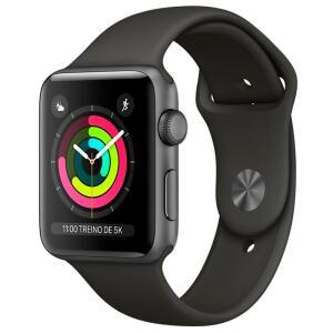 Apple Watch Series 3, GPS, 42mm, Cinza Espacial | R$ 1709