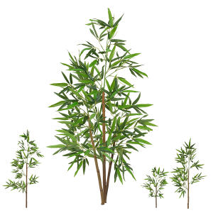 Planta Artificial Árvore Bambu Bamboo Real Toque 1,20 M | R$129