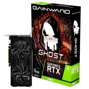 Placa de Vídeo Gainward NVIDIA GeForce RTX 2060 Ghost OC, 6GB, GDDR6 | R$1.900