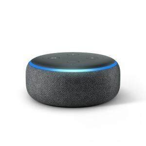 Echo Dot Amazon Smart Speaker Preto Alexa 3a Geração em Português | R$229