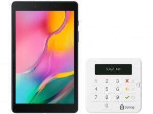 "Tablet Samsung Galaxy Tab A T290 32GB 8"" Wi-Fi Android 9.0 Quad Core Câm 8MP + Máquina de Cartão Sumup   R$881"