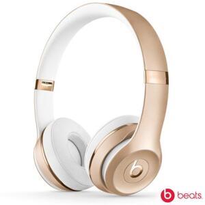 Fone de Ouvido Apple Headphone Beats Solo 3 Dourado - MNER2BE/A | R$1.339