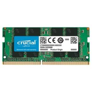 Memória Crucial, 16GB, 2666MHz, DDR4, Para Notebook | R$ 398