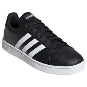 Tênis Adidas Grand Court Base Masculino - Preto | R$140