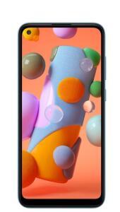 "Galaxy A11 6,4"" Dual Chip 64GB 3GB RAM Azul Octa Core Câmera Tripla 13MP Selfie 8MP R$989"