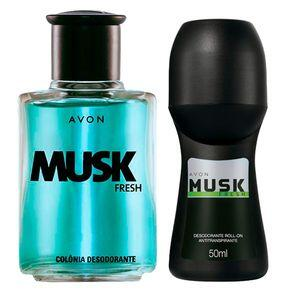 Kit Presente Musk Fresh | R$16
