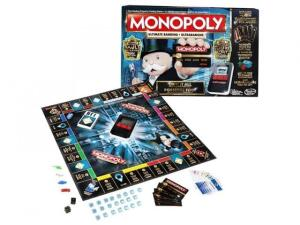 Jogo Gaming Monopoly Ultimate Hasbro Preto/Cinza
