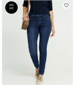 Calça Feminina Jegging Uber Jeans