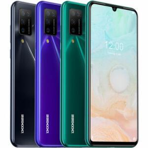 "Smartphone DOOGEE N20 Pro, Tela 6,3"", 6GB RAM, 128GB | R$659"