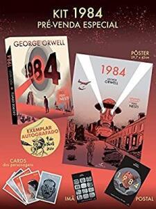 1984 em graphic novel - Pré-venda com brindes e autógrafo | R$85