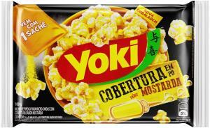 [PRIME] Popcorn Sachê Mostarda Yoki 100g | R$ 3,19