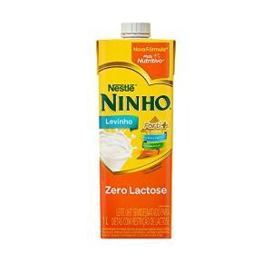 [Prime] Leite Semidesnatado Ninho Zero Lactose 1L - R$3,56