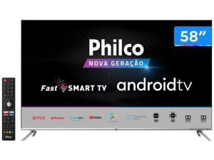 "Smart TV 4K LED 58"" Philco PTV58G71AGBLS Android-"