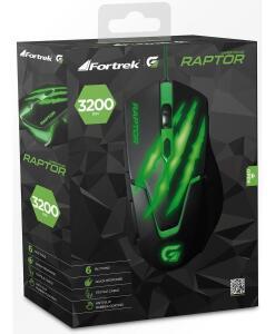 Mouse gamer Raptor - R$45