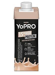 [PRIME] Bebida Láctea com 15g de proteína Côco e Batata Doce YoPRO 250ml